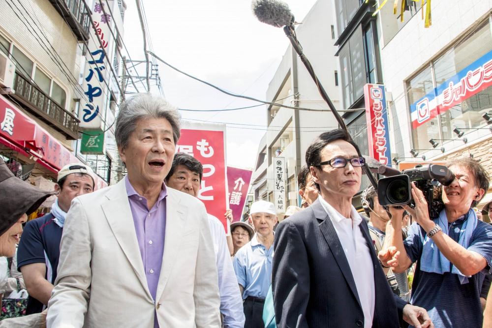 野党統一候補・鳥越俊太郎氏と市民がつくる都政の実現へ